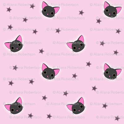 Kawaii Black Kitty