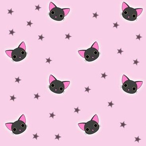 Kawaii Black Kitty