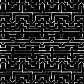 Ethno Black and White
