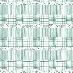 fiber pen tartan lilac-ch
