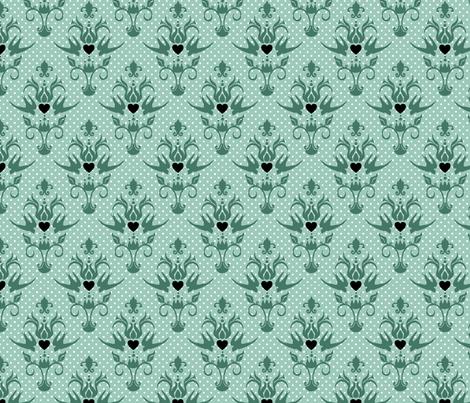 lovebirds ♥ fabric by eoskoch on Spoonflower - custom fabric