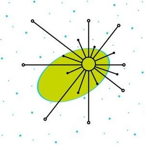 Star - Lime/Aqua