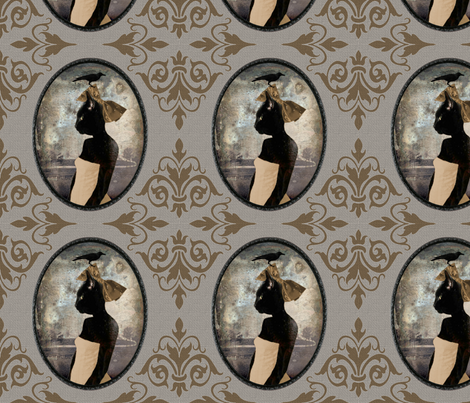 Cat Bird Seat fabric by novelatelier on Spoonflower - custom fabric