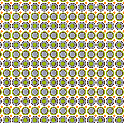 Doodly Dots fabric by natitys on Spoonflower - custom fabric