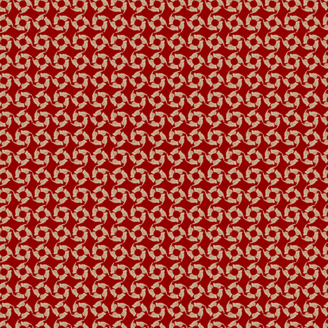Tag You're It! (Ruby Champagne) fabric by glimmericks on Spoonflower - custom fabric
