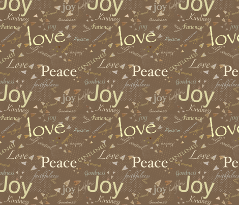 Fruits of The Spirit - 113 80 57 fabric by petals_fair_(peggy_brown) on Spoonflower - custom fabric