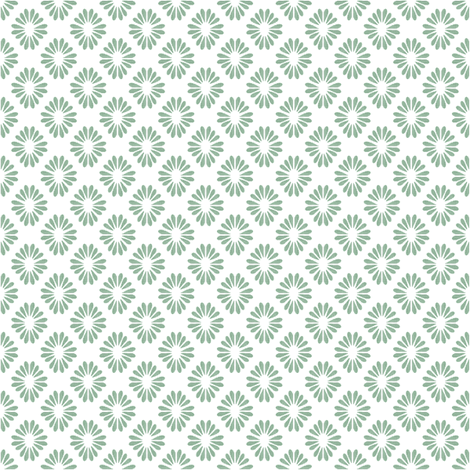 Twinkle Stars - Emerald fabric by kristopherk on Spoonflower - custom fabric