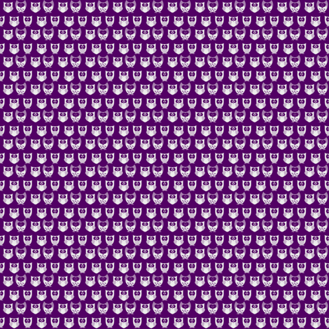 purpleowl fabric by vena903 on Spoonflower - custom fabric