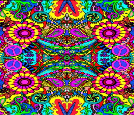 retro_doodler_fabric fabric by charldia on Spoonflower - custom fabric
