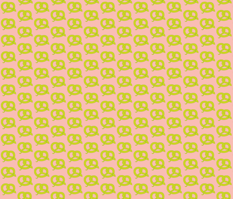 Pretzel Snake fabric by beeskneesindustries on Spoonflower - custom fabric