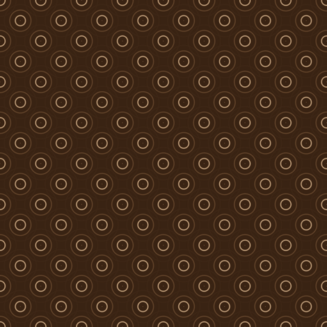 Dark Chocolate Circles © Gingezel™ Inc. 2011 fabric by gingezel on Spoonflower - custom fabric