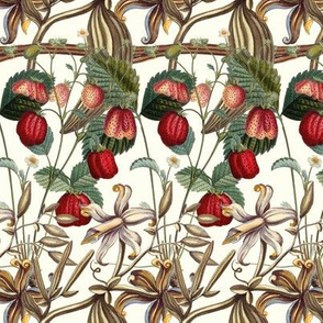 Les Fraisers Montreuils et Les Orchidees Vanille