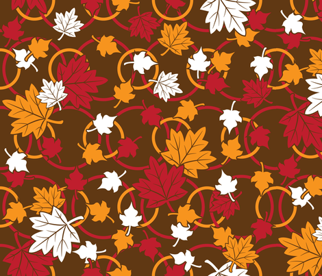 Autumn Leaves Will Fall fabric by robyriker on Spoonflower - custom fabric