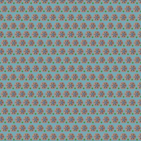 Korean Green Ditsy fabric by corinnevail on Spoonflower - custom fabric