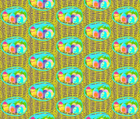 Easter Eggs Nest fabric by robin_rice on Spoonflower - custom fabric