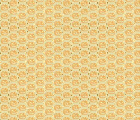 jack-o-lantern-ed fabric by readerwoman on Spoonflower - custom fabric
