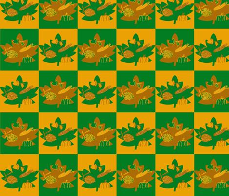fall fabric by dannyellamichiella on Spoonflower - custom fabric