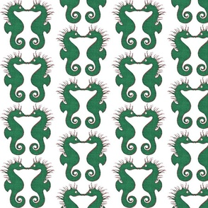 Christmas Seahorses