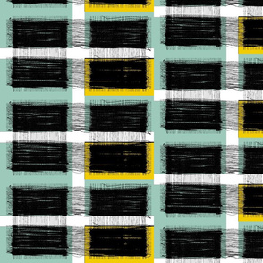 wired plaid spoonflower_blue_and_gold