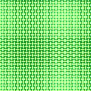 Green Basketweave