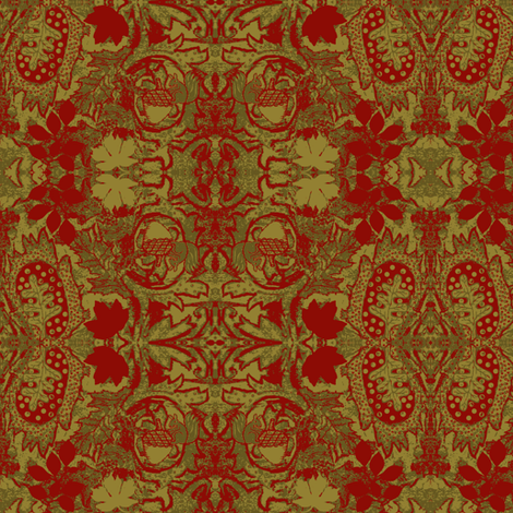 Autumn tapestry fabric by paragonstudios on Spoonflower - custom fabric