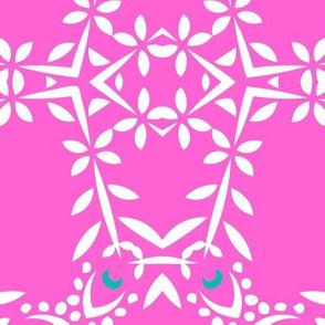 Phula Check (Pink)