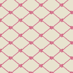 Small Crab Netting - Tropical Pinks
