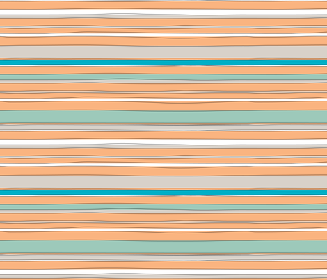 StripeH fabric by ghennah on Spoonflower - custom fabric