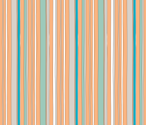 StripeV fabric by ghennah on Spoonflower - custom fabric
