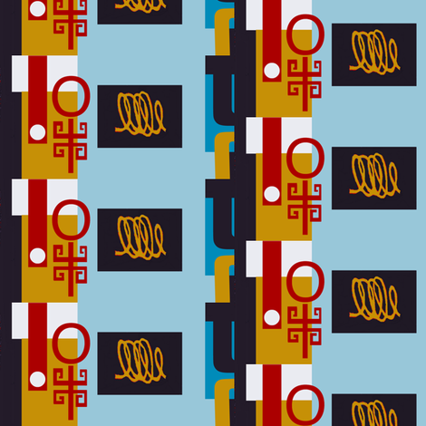 Chinoiserie Vending Machine 2 fabric by boris_thumbkin on Spoonflower - custom fabric