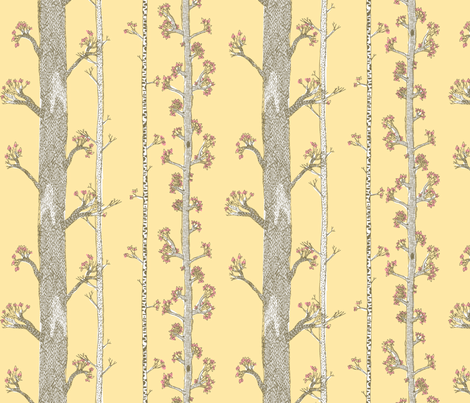 If Leaves Fall in the Forest fabric by drizzlydaydesignco on Spoonflower - custom fabric