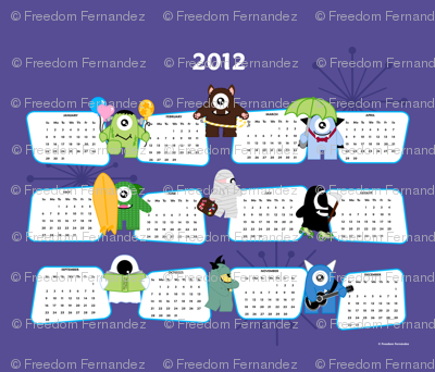 The Imps 2012 Calendar