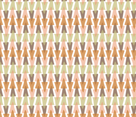 acute stripe (small scale) in hayride fabric by burjeune on Spoonflower - custom fabric
