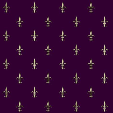 ©2011 fleurdelis2010-berry fabric by glimmericks on Spoonflower - custom fabric