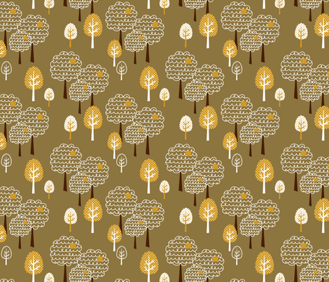 Tweety chirp chirp hoot 03 fabric by amel24 on Spoonflower - custom fabric