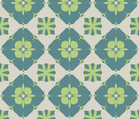 Tealy Dan fabric by captiveinflorida on Spoonflower - custom fabric