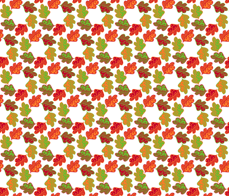 Autumn_Circles fabric by niceandfancy on Spoonflower - custom fabric