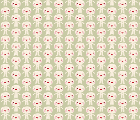 Mummy fabric fabric by bora on Spoonflower - custom fabric