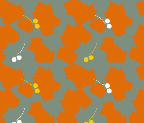 Autumn fabric by livie on Spoonflower - custom fabric