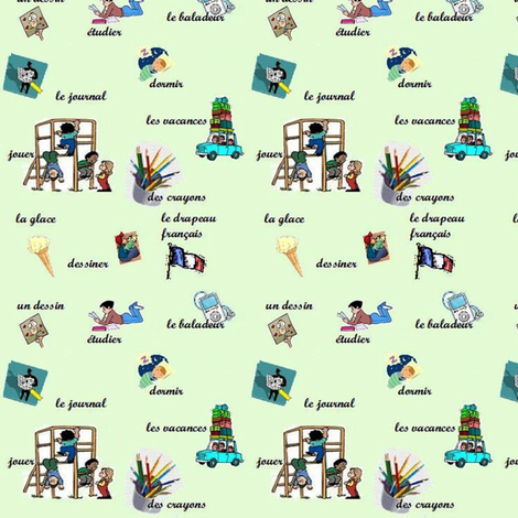 Jouons - Let's play fabric by la_vie_est_belle on Spoonflower - custom fabric