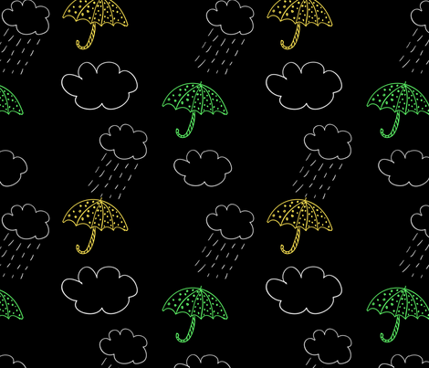 umbrella fabric by suziedesign on Spoonflower - custom fabric