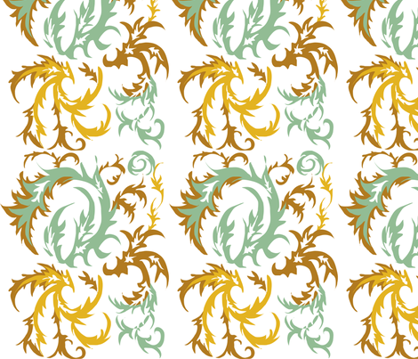 Autumn fabric by laughincolor on Spoonflower - custom fabric