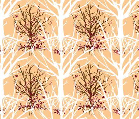 tree_of_life_spoonflower fabric by worldwidedeb on Spoonflower - custom fabric