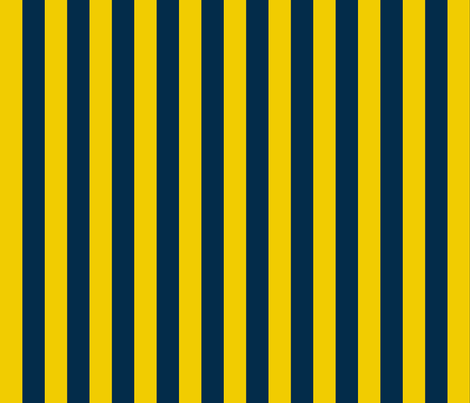 Navy-gold-Stripes fabric by writefullysew on Spoonflower - custom fabric