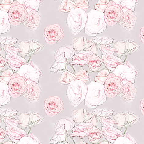 Blooming Roses fabric by captiveinflorida on Spoonflower - custom fabric