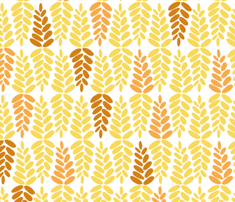 fall_leaves fabric by jeannemcgee on Spoonflower - custom fabric