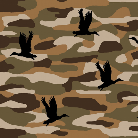 Duck Camo fabric by paragonstudios on Spoonflower - custom fabric