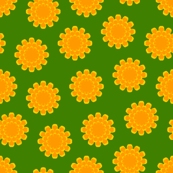 00759547 : S43 floral : a myriad of marigolds