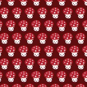 Little red mushroom