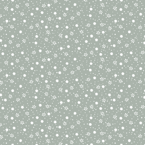 snowflower fabric by lighthearts on Spoonflower - custom fabric